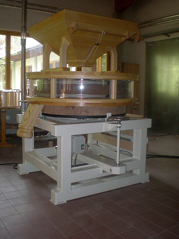 Grain mill plant A1200 with big screen box - Osttiroler grain mills